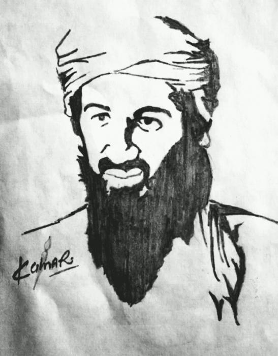 Osama Bin Laden by Kumarr